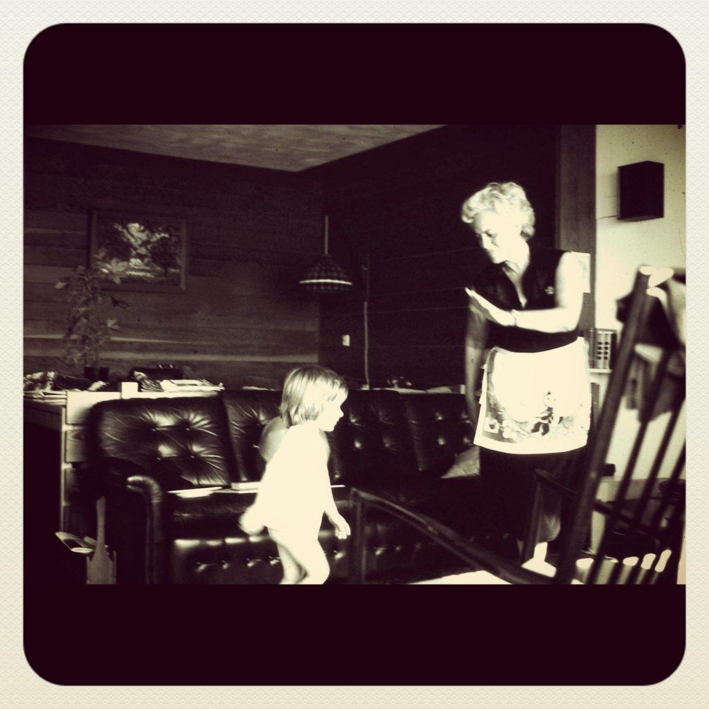 Grandma & little Sarah